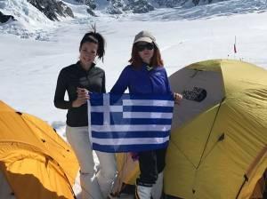 Η Χριστίνα Φλαμπούρη και η Βανέσσα Αρχοντίδου έγιναν οι πρώτες Ελληνίδες που ανέβηκαν στο Έβερεστ (8.848μ)!