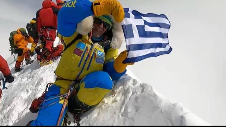 Antonis Sykaris joins the Marmot Mountain Club!